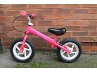 Pink Princess Balance Bike