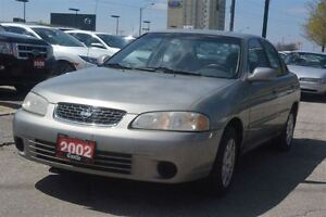 2002 Nissan Sentra GXE/AS-IS