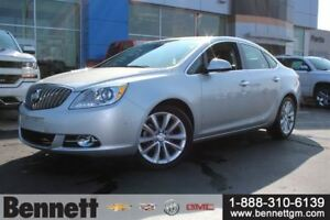 2014 Buick Verano Leather with 2.0T, Nav + Sunroof