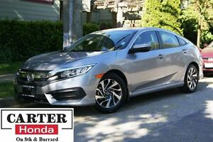 2016 Honda Civic EX + SUNROOF + ALLOYS + BLUETOOTH + CERTIFIED!