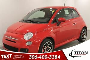 2015 Fiat 500 Sport|Auto|Leather|Low Kms