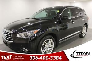 2013 Infiniti JX35 Auto| AWD| Nav| Leather| Sunroof| Heated Seat