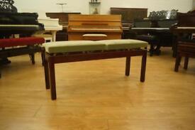 New adjustable split piano bench