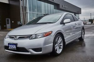 2008 Honda Civic AS-IS  / NO ACCIDENTS / LOW KMS / CALL FOR DETA
