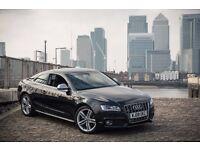 audi s5 4.2 v8 coupe manual FSI QUATTRO 2008 rare black fully loaded not a5 a6 a7 a8 530d q7 330d