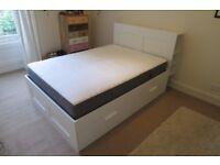Double Bed - Ikea Brimnes