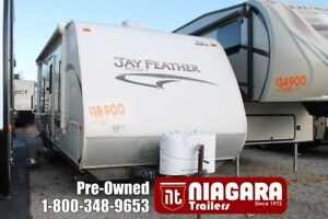 2011 JAYCO JAY FEATHER, 24T Travel Trailer