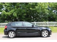 BMW 1 SERIES 2.0 116I SE 5d 121 BHP RAC APROVED DEALER (black) 2009
