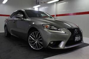 2015 Lexus IS 250 AWD Heated Ventilated Lthr Btooth BU Camera Cr