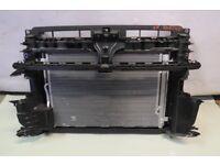 VW GOLF 7 SV SPORTSVAN RADIATOR PACK FRONT PANEL 2.0 DIESEL GENUINE 510 805 588