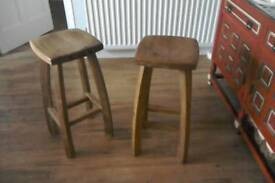 Wooden stools REDUCED!