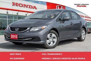 2015 Honda Civic LX (MT)