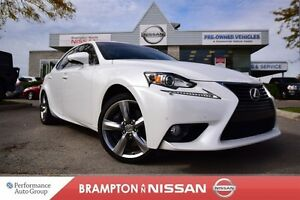 2014 Lexus IS 350 Luxury *Leather, Navigation, Blind spot warnin