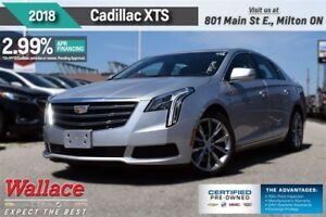 2018 Cadillac XTS 2.99% FINANCE UP TO 60MNTHS/HTD STS/8 SCRN/CAM