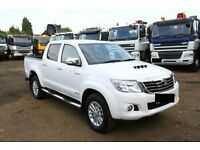 2015 TOYOTA HILUX INVINCIBLE 4X4 D-4D PCKUP FULLY LOADED CHOICE OF 2 NISSAN NAVARA FORD RANGER