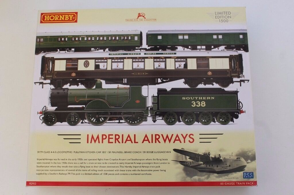 Hornby Limited edition Imperial airways train pack