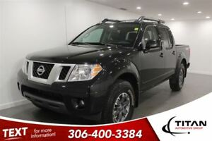 2017 Nissan Frontier PRO-4X|Bluetooth| Leather|Nav|Cam|Premium a