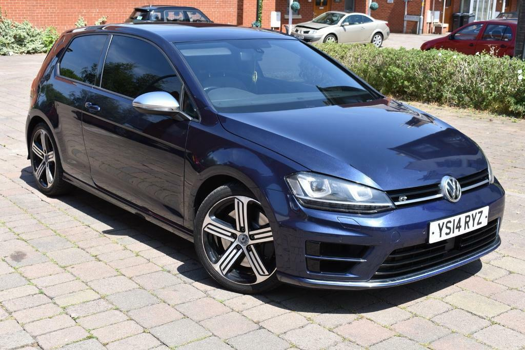 Volkswagen Golf R Dsg 2014 Midnight Blue Mk7 Volkswagen