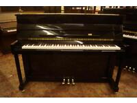 Brand new Ritmüller small black upright piano - UK delivery available