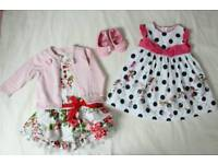 Baby Girl's Dress Bundle, Size 12 months