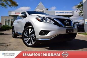 2016 Nissan Murano Platinum *Leather,Navigation,Blind spot warni