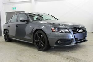 2011 Audi A4 2.0T Premium S-line - Leather, Sunroof, AWD