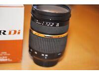 Tamron af 28-75mm F2.8/Nikon fit
