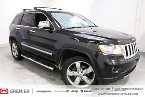 2013 Jeep Grand Cherokee Limited*Cuir, Toit Panoramique,Gps*