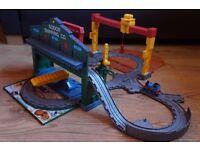 Thomas the Tank Engine Take & Play bundle plus lots of track and trains