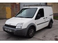 2004 FORD TRANSIT CONNECT 1.8 TDCI T220 SWB L LOW ROOF, PANEL VAN, DIESEL, DRIVES WELL, MOT FAILURE