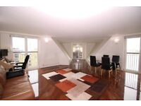 SPACIOUS 2 BEDROOM FLAT WITH PRIVATE BALCONY, PARKING &CONCIERGE IN WATERMAN BUILDING, CANARY WHARF