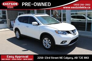 2015 Nissan Rogue SV AWD ROOF AND NAV