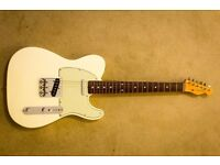 Fender Telecaster (Mexican) in white. Excellent condition.