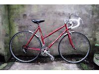PEUGEOT SPORT, 21 inch, vintage ladies womens racer racing road bike, 10 speed, light weight