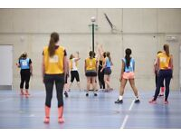 Clapham South back to Netball sessions now available!