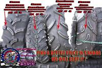 Canada ONTARIO ATV TIRES LOWEST PRICES ATV TIRE RACK $338setof 4