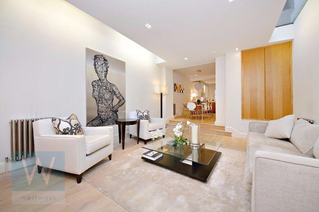 Beautiful 3 Bedroom Townhouse to Rent on Dukes Lane, Kensington W8