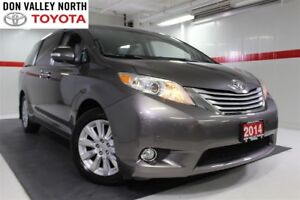 2014 Toyota Sienna XLE AWD LIMITED Sunroof Nav DVD Heated Lther
