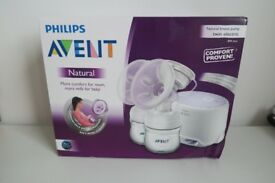 PHILIPS AVENT SCF334/02 COMFORT TWIN ELECTRIC BREAST PUMP - New