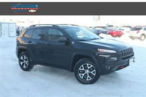 2016 Jeep Cherokee Trailhawk * Heated Leather * Sunroof * Remote