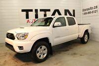 2013 Toyota Tacoma TRD| SR5| Auto| Crew Cab| 38,000kms| White
