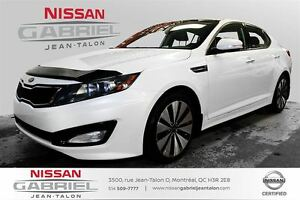 2012 Kia Optima SX ONE OWNER/LEATHER/INFINITY SOUND SYSTEM/SUNRO