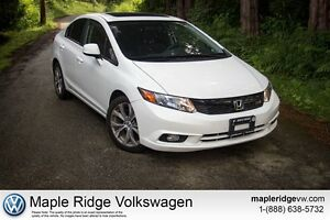 2012 Honda Civic Si Manual