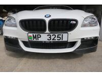 BMW 640D CARBON FIBRE SPLITTERS FROM AMERICA AN EXCELLENT ADDITION TO YOUR 640D BOUGHT TW0 IN ERROR