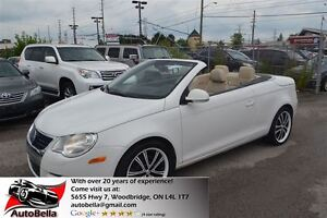 2008 Volkswagen Eos 2.0T Leather Sunroof Convertible No Accident
