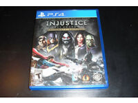 Injustice Gods Among Us Excellent Condition PS4