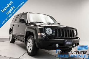2015 Jeep Patriot Sport, AWD, A/C, CRUISE CONTROL