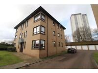Spacious 2 bed ground floor Knightswood flat: well-built, dual-aspect, great development, quiet area