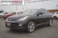 2012 Infiniti EX35 Luxury With Navigation, Moonroof, Leather