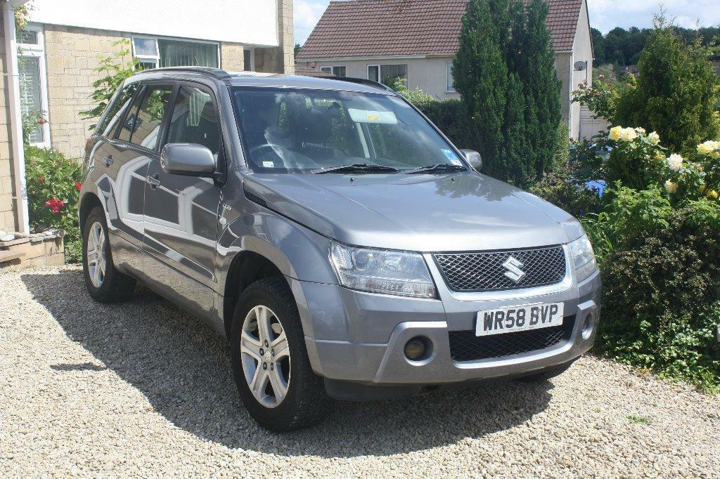 suzuki grand vitara 1 9 2008 ddis in midsomer norton. Black Bedroom Furniture Sets. Home Design Ideas